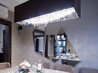 Deep Sky crystal chandelier is Warsaw Manooi Dining roomLighting Transparent