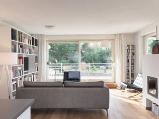 Wohnstil _ Skandinavisch: skandinavische Wohnzimmer von Innenarchitektur-Moll