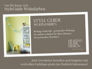 Style Guide Wohnfarben:   von HEALING HOME DESIGN by Katrin Täubig
