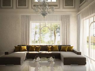 Второй свет Гостиная в классическом стиле от anydesign Классический