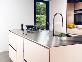 Multifunktionsküche eines Einfamilienhauses Moderne Küchen von hysenbergh GmbH | Raumkonzepte Duesseldorf Modern
