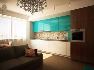 Сочетание стилей Кухни в эклектичном стиле от anydesign Эклектичный