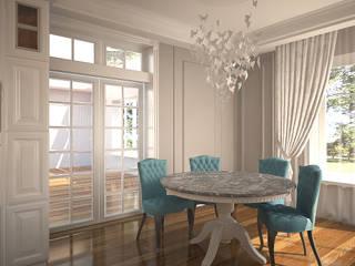 Французская классика Столовая комната в классическом стиле от anydesign Классический
