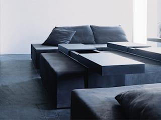 Sofa - Coffee Table:   door Jen Alkema architect