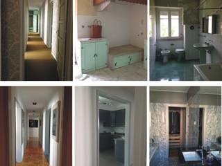 Antes&Depois / Before&After - Lisbon Family Apartment: Cozinhas  por IN LIGHT - Concepção de Espaços, Lda.,Eclético