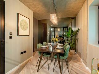 Ruang Keluarga Modern Oleh Crepuscule Modern