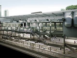 São Paulo Metro - Line 5: Case in stile  di Studio Associato di architettura MBiM