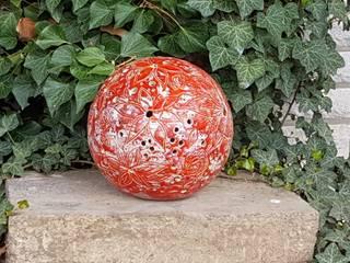 Keramikkugel, Gartenkugel, Lichtkugel:   von CAMOLITA - Keramik