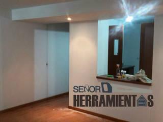 renovacion pintura apartamento Comedores de estilo clásico de Señor herramientas Clásico