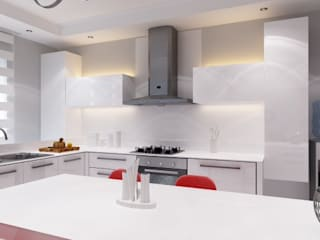Ramazan Yücel İç mimarlık  – Mutfak tasarımı Ahmet Cihan N.:  tarz ,