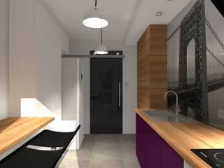 Kuchnia: styl , w kategorii Kuchnia zaprojektowany przez Pracownia Projektowa ArtSS Sylwia Stankiewicz