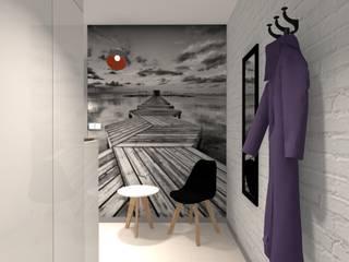 Przedpokój: styl , w kategorii Korytarz, przedpokój zaprojektowany przez Pracownia Projektowa ArtSS Sylwia Stankiewicz