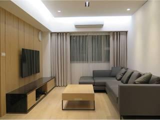 木皆空間設計 Salas de estilo tropical