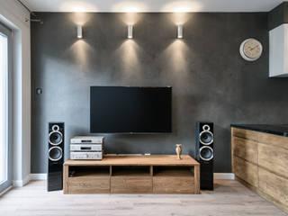 Mieszkanie #1: styl , w kategorii Salon zaprojektowany przez Partner Design