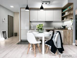Mieszkanie Młodej Pary: styl , w kategorii Kuchnia zaprojektowany przez Partner Design