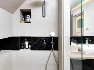 Mieszkanie z Antresolą: styl , w kategorii Łazienka zaprojektowany przez Partner Design