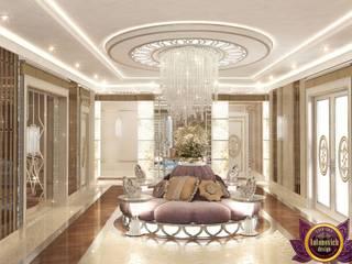 Modern corridor, hallway & stairs by Luxury Antonovich Design Modern