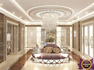 Modern Corridor, Hallway and Staircase by Luxury Antonovich Design Modern