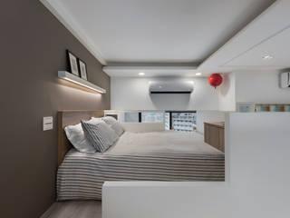 스칸디나비아 침실 by 倍果設計有限公司 북유럽