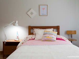 custom casa home staging Scandinavian style nursery/kids room