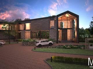 บ้านพักตากอากาศ ในจังหวัดสระบุรี โดย MINA Interior Design