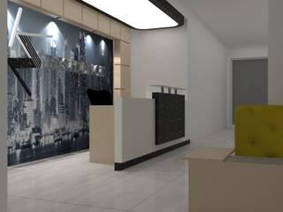 Ramazan Yücel İç mimarlık  – MK Rezidance  Denizli Reception design:  tarz ,