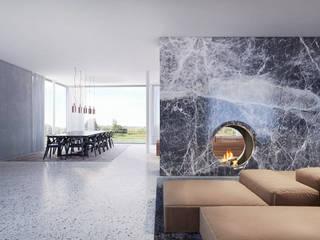 Haus K destilat Design Studio GmbH Moderne Esszimmer