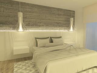 Carrer Bilbao- Barcelona: Dormitorios de estilo  de Upper interiorismo