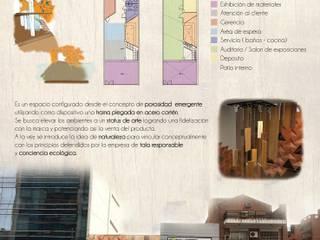 Diseño Paramétrico I IndusParquet de Bōken Studio Moderno