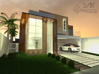 Casa Piaui: Casas  por 3ak Arquitetura e Design,Moderno