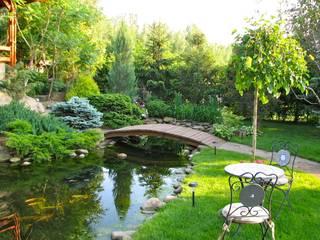 Энергии инь и ян: Сады в . Автор – Укр Ландшафт Парк, Азиатский
