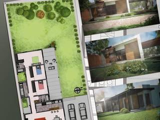 Vivienda Unifamiliar Garcia-Ponti Casas modernas: Ideas, imágenes y decoración de Hornero Arquitectura y Diseño Moderno