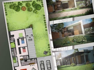 Modern houses by Hornero Arquitectura y Diseño Modern