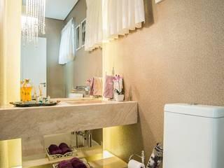Lavabo encantador: Banheiros  por Nadia Takatama arquitetura e interiores