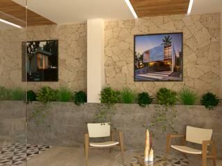 Hipercubo Arquitectura Oficinas y Tiendas Piedra Blanco