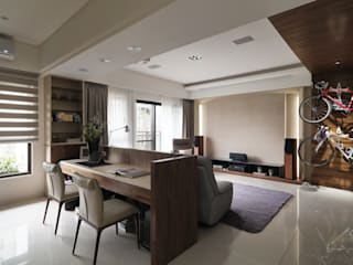 星葉室內裝修有限公司 Modern Study Room and Home Office