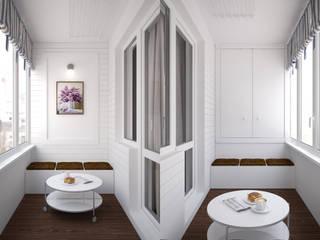Квартира, Боровляны: Tерраса в . Автор – Осейко Алексей и Виктория