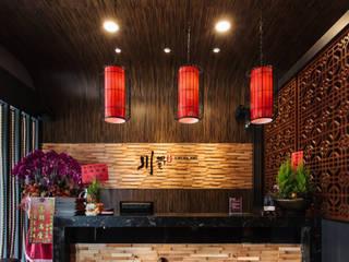 Gastronomía de estilo asiático de 貝爾空間設計 Asiático