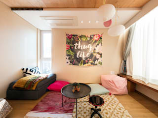 Modern living room by tuneplanning Modern