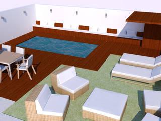 Piscinas de estilo moderno de Ana Andrade - Design de Interiores Moderno