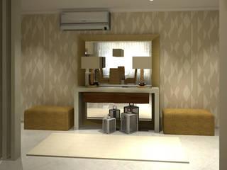 Pasillos, vestíbulos y escaleras de estilo moderno de Ana Andrade - Design de Interiores Moderno