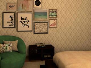 Ana Andrade - Design de Interiores Modern style bedroom