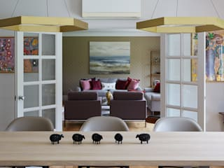 dining table to sitting room:  Living room by niche pr