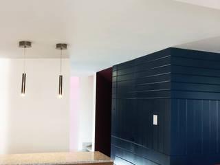 Casa Agustín: Cocinas de estilo  por Sentido Arquitectura