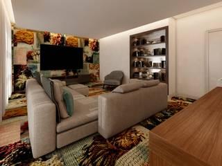 Lounge | Sala Artistas: Salas multimédia  por Living Atmosphere