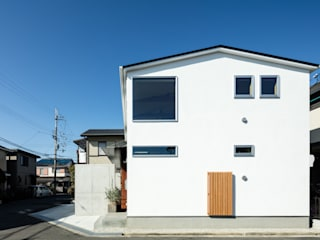S-house ミニマルな 家 の coil松村一輝建設計事務所 ミニマル