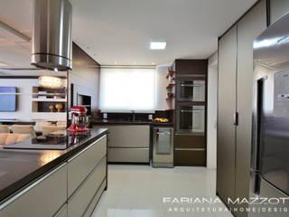 Cocinas de estilo moderno de Fabiana Mazzotti Arquitetura e Interiores Moderno