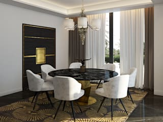 Modern dining room by Paolo Ciacci Modern