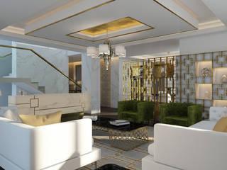 Salas de estilo moderno de Paolo Ciacci Moderno