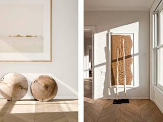 Apartment Milano 2014: Ingresso & Corridoio in stile  di Aeon Studio Firenze (architecture and design)